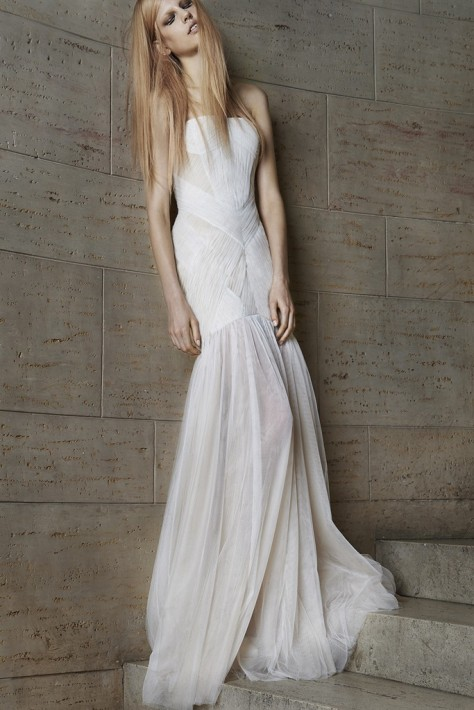 Vera Wang's Spring Bridal Collection 2015 Photo Courtesy: WWD.com