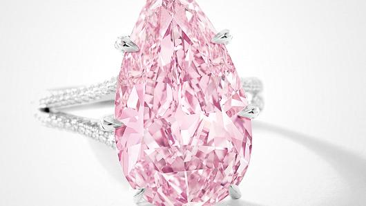 Pink Diamond Sells for $17.7 million